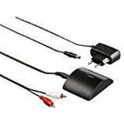 Hama Bluetooth Audio/Adapter (für kabelloses Musikstreaming, APTX, 10 m Reichweite, mit Netzteil) schwarz