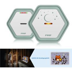 reer Babyphone BeeConnect digital mintgrün/weiß inklusive Gratis LED-Beruhigungslicht