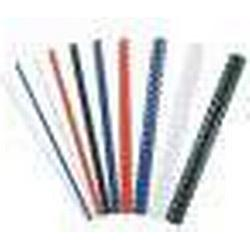 Fellowes Plastikbinder�cken, DIN A4, 21 Ringe, 6 mm, wei�