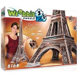 Wrebbit 34509 Eiffelturm 816 Teile 3D Puzzle