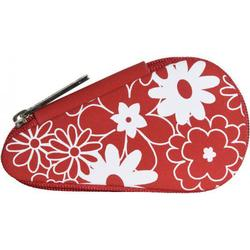 Windrose Charming Taschenmanicure-Set 3-tlg. red flowers