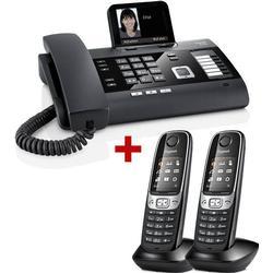3er Pack: Gigaset DL500A + 2 Mobilteile C620H