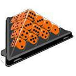 ABACUSSPIELE 03113 / Spiel mini. Würfelpyramide, farblich sortiert