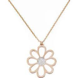 Gab & Ty by Jana Ina Accessoires Halsketten  Kette Flower, rosegold plattiert  1 Stk.