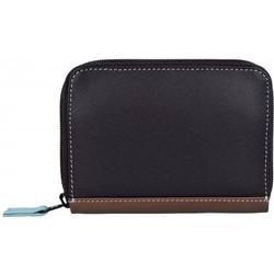 mywalit Zip Around Kreditkartenetui Leder 10 cm mocha