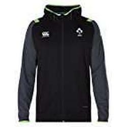 Offizielles IRFU Herren Irland Rugby Fleece Full Zip Hoody S Tap Shoe