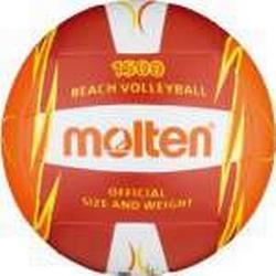 molten Beach-Volleyball V5B1500-RO (rot/weiß/orange) - 5