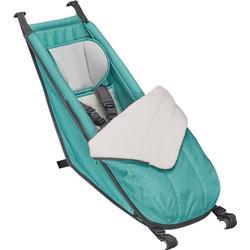 Croozer Babysitz inkl. Winter-Set für Kid Plus / Kid - grün
