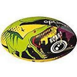 Optimum Rugby Bälle, Motiv: Cartoon, unisex, Dino City, mehrfarbig, 37