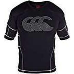 CANTERBURY Herren Rugby Raze Elite Gepolsterte Body Armour Weste XL Schwarz