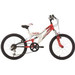 KS Cycling Kinderfahrrad 20'' Zodiac weiß-rot RH 31 cm KS Cycling