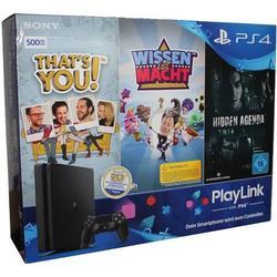 Sony PlayStation 4 slim PlayLink Bundle 500GB schwarz (D-Chassis)