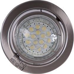 1-flammige 2W LED Einbaustrahler chrom satiniert