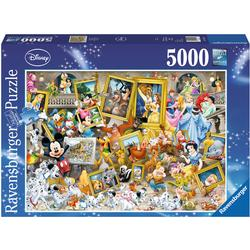 Ravensburger Puzzle - Micky als Künstler
