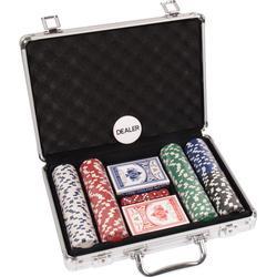 Buffalo Poker Set mit Koffer und 200 Chips