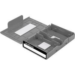 Renkforce Universal Festplatten-Aufbewahrungsbox HY-EB-8500 Grau
