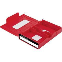 Renkforce Universal Festplatten-Aufbewahrungsbox HY-EB-8500 Rot