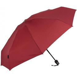 Knirps T.100 small duomatic Taschenschirm 23 cm dark red UV protection