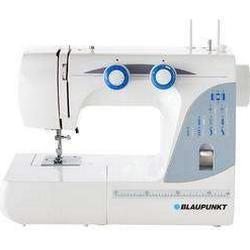Freiarmnähmaschine Blaupunkt Casual 845 LED-Licht Weiß, Blau