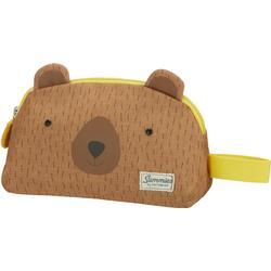 Samsonite Teddybär Kulturbeutel, Braun