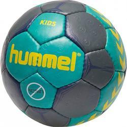 Hummel 10er Ballpaket Kids Handball 2018 Gr��e 00 Kinder dunkelblau-t�rkis