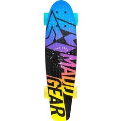 Madd Gear Skateboard Retro Board Fader, Blau/Gelb
