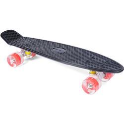 Pinepeak Skateboard, Black/Red