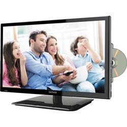 """Denver 23,6"""" Full HD LED-TV mit DVD-Player und Triple Tuner"""