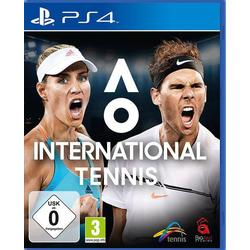 International Tennis PS4 USK: 0