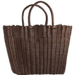 Bodum SHOPPING BAG Einkaufstasche aus Kunststoff, Braun, 40 x 30 x 30 cm Braun