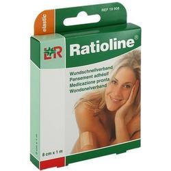 RATIOLINE elastic Wundschnellverband 8 cmx1 m 1 St