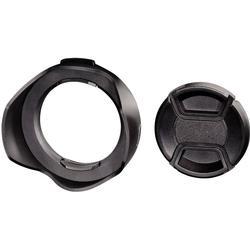 Hama Gegenlichtblende Snap mit Objektivdeckel »Weitwinkel-Objektive, 52 mm«