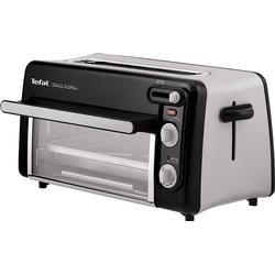 Tefal Toast n' Grill TL6008 Wasserkocher & Toaster - Aluminium / Schwarz