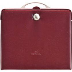 Windrose Merino Charmbox Schmuckkasten 25,5 cm rot