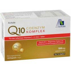 COENZYM Q10 100 mg Kapseln+Vitamine+Mineralstoffe 120 St