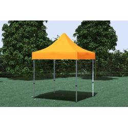 Faltpavillon ALU 2x2 m Professional orange wasserdicht Faltzelt