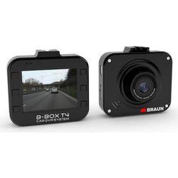 Braun Germany B-Box T4 Dashcam Blickwinkel horizontal max.=120° 12V Akku, Display, Mikrofon