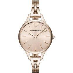 Emporio Armani AR11055 Rose gold colored/Rose gold colored steel Ø32 mm