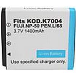 1400mAh 3.7V Digitalkamera Akku für Fujifilm np-50/k7004, Casio und mehr