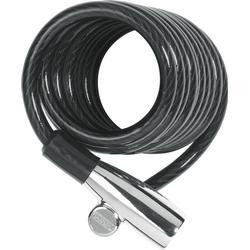 Abus Spiralkabelschloss 1950/180, Länge 180 cm, schwarz