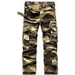 Herrenmode Camouflage Hose (Gurt nicht im Lieferumfang enthalten)