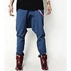 Männer Casual Harem Jeans