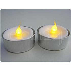 Kaemingk LED fyrfadslys med flakkende lys sæt à 2 stk.