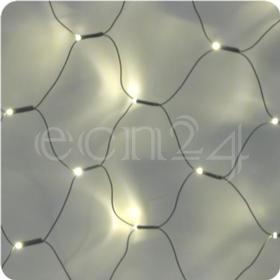 LED-net-lyskæde 2,5 x 1 m - varm hvid
