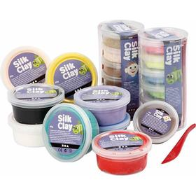 Silk Clay Assorted Colors Clay 22-pack