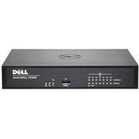 Dell SonicWALL SonicWall TZ400 - Säkerhetsfunktion - med 1 års TotalSecure - 7 portar - GigE