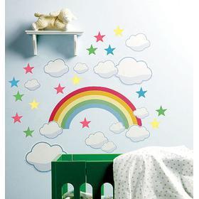 Wallstickers - Rainbow Room