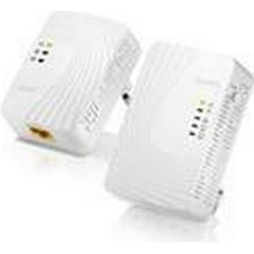 ZyXEL Mini Powerline Wireless Ext. Kit 500Mbps Mini Powerline Wireless N300 Extender Kit - Includes PLA4231+PLA4201