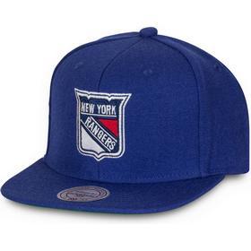 Mitchell & Ness New York Rangers Wool Solid Snapback