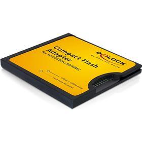 DE-LOCK DeLOCK adapter för SD/SDHC/SDXC-kort i en CF-slot